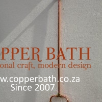 Copper shower set