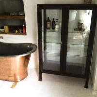 Franschoek copper and tin bath installation