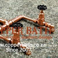 Industrial copper mixer taps (2)