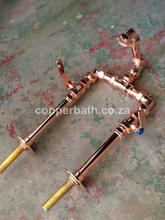 Copper lever control mixer