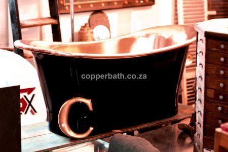 Copper inner black outer R44 500