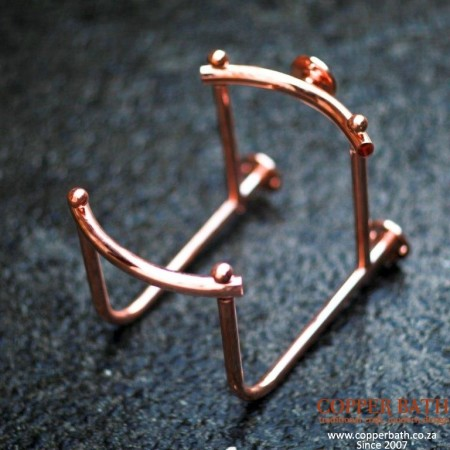 Copper plated rack