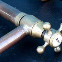 copper brass industrial tap ware