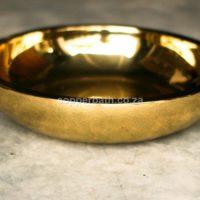 Round Brass Basin