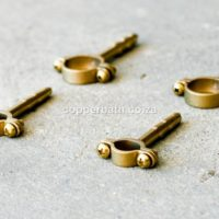 Holder 15mm 22mm brass/copper