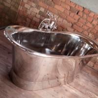 Copper bath in nickel plate R42 500late R