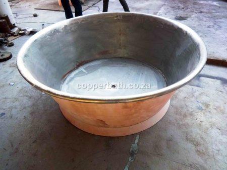 Copper nickel round bath