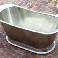 Copper bath tin plated throughot