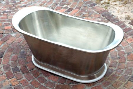 Copper bath tin plated throughot