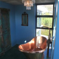 Copper bath installation
