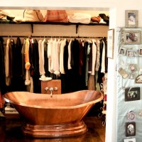 Copper bath installation St James