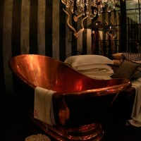Copper bath at Decorex