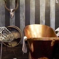 Copper bath trade show Bexelbaumer Installation