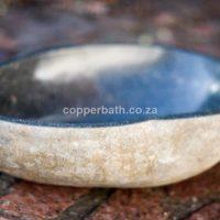 Organic stone basin
